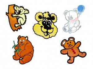 Dalco Bear Collection Applique Designs