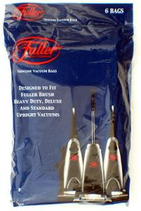 Fuller Brush 06.181 6-Pack Paper Bags for Upright Vacuum Cleaners