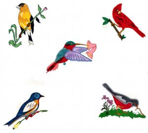 Dalco Birds Collection Applique Designs