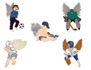 Dalco Boy Angels Applique Designs
