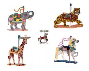 Dalco Carousel Collection Applique Designs