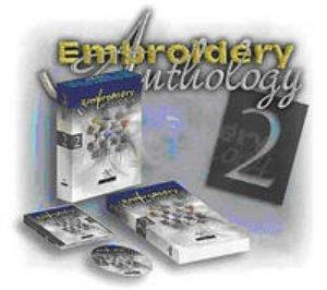 Compucon Stitch N Sew Embroidery Anthology II, 4300 Stock Designs Collection CD & Printed Book - USB Stick, My Editor Sizer Format & Color Conversion*