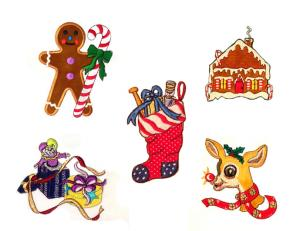 Dalco Christmas B Applique Designs