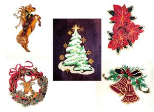 Dalco Christmas IV Collection Applique Designs