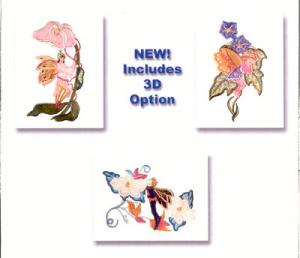 Dalco Fairies Applique Design