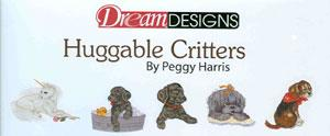 OESD 838 Huggable Critters By Peggy Harris Embroidery Card