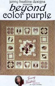 Jenny Haskins Beyond Color Purple Designs Multi-Formatted CD
