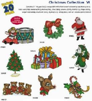 Amazing Designs / Great Notions 1214 Christmas Collection VI Multi-Formatted CD