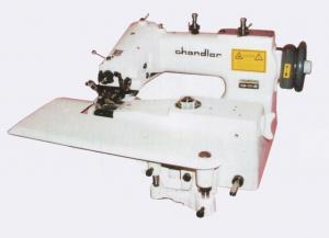 Chandler, CM101, Blind Hemmer, Single Thread, Chain Stitch, Industrial , Sewing Machine, CM-101, Curved Needle, Knee Lever, Skip Stitch, Assembled Power Stand