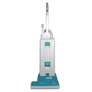 "SEBO Essential G2 Upright Vacuum Cleaner Made in Germany, SEBO 9592AT Essential G2, Upright Vacuum Cleaner, 1300W, 12"" Clean Width, 69dB, 104CFM, 93"" Lift, 40' Cord,  Life Belt, 17Lbs"