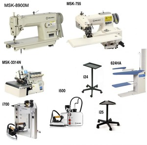 Reliable Alteration Dressmaking : 3100SD Machine, 7100SB BlindStitch, MSK3314 Serger, Stands, i700 Boiler, i30/2100IR Iron, Shoe, 6200VB Vacuum Board2
