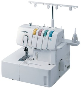 Brother 2340CV 3 Needle 3-6mm Cover Hem, Straight Chain Stitch Machine Made in Taiwan