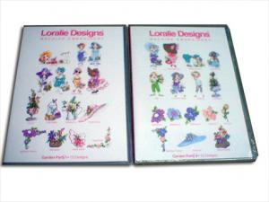 Loralie Designs Garden Party Multi-Format CD Series 2 Volume Set