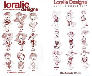 Loralie Nine Redheads Multi-Format CD Series 2 Volume Set