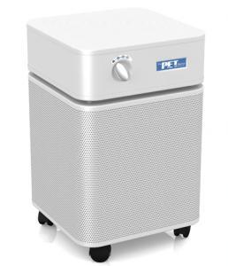 """Austin Air HM410 Pet Machine HEPA Air Purifier Cleaner 23x14.5x14.5"""", 15lb Carbon Blend, 360 degree intake, 3 Speed, 400CFM, 1500 Square Feet, 45Lbsnohtin"""
