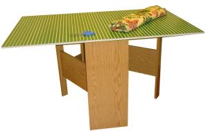 "Arrow 98602 Green Fabric Cutting Table with Cutting Mat (Open 59-1/4"" W x 36"" D x 32-5/16"" H) RTA Ready to Assemble"