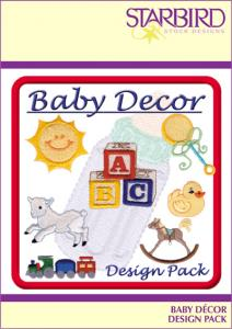 Starbird Embroidery Designs Baby Décor Design Pack