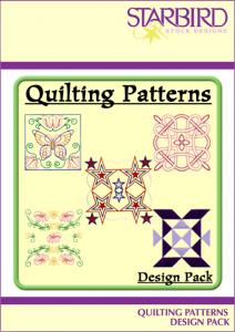 Starbird Embroidery Designs Quilting Patterns Design Pack