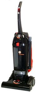 "Hoover C1660-900 Bagless Hush Commercial Upright HEPA Vacuum Cleaner, 15"" Path, Power Surge, 12A, Hush Mode, 35' Cord, Folding Handle, On Board Tools"