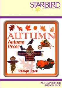 Starbird Embroidery Designs Autumn D�cor Design Pack