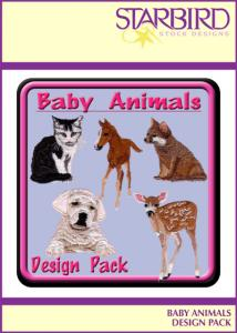 Starbird Embroidery Designs Baby Animals Design Pack