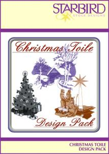 Starbird Embroidery Designs Christmas Toile Design Pack