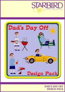 Starbird Embroidery Designs Dad's Day Off Design Pack