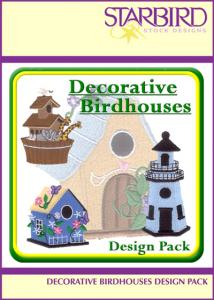 Starbird Embroidery Designs Decorative Birdhouses Design Pack