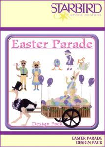 Starbird Embroidery Designs Easter Parade Design Pack