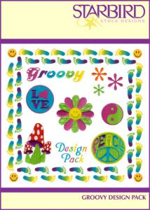 Starbird Embroidery Designs Groovy Design Pack