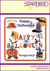Starbird Embroidery Designs Happy Halloween Design Pack