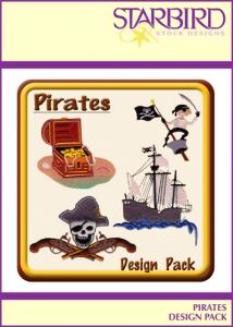 Starbird Embroidery Designs Pirates Design Pack