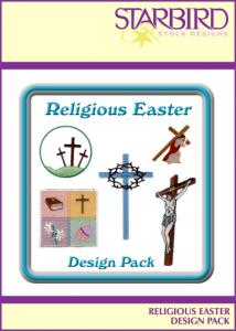 Starbird Embroidery Designs Religious Easter Design Pack