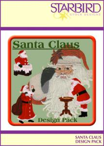 Starbird Embroidery Designs Santa Claus Design Pack