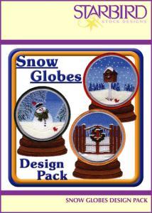 Starbird Embroidery Designs Snow Globes Design Pack