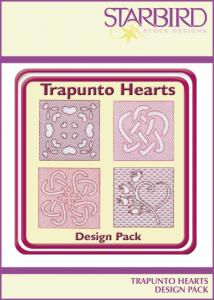 Shirt Embroidery - Starbird Embroidery Designs Trapunto Hearts Design Pack