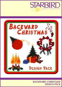 Starbird Embroidery Designs Backward Christmas Design Pack