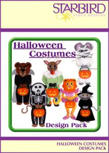 Starbird Embroidery Designs Halloween Costume Design Pack