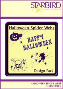 Starbird Embroidery Designs Halloween Spider Webs Design Pack