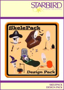 Starbird Embroidery Designs SkelePack Design Pack