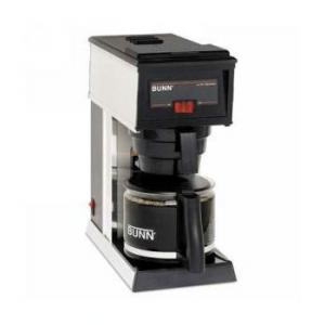 BUNN® A-10 10-Cup Commercial Pourover Coffee Brewer, Black
