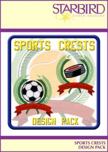 Starbird Embroidery Designs Sports Crest Design Pack