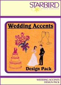 Shirt Embroidery - Starbird Embroidery Designs Wedding Accents Design Pack