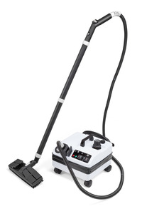 Vapor Clean, Unilux 3000, Vapor Clean 3000, Vapor 3000, Commercial Steam Cleaner, 1500W, 75PSI, Pressure Gauge, 17 Pounds, 9' Hose,  Stainless Steel Boiler, 315 F & 1-3 Hr Cleaning,Vapor Clean Unilux 3000 Steam Cleaner 3 Quart, 1500W, 315°F, 5 Bar, 75 PSI, Pressure Gauge, 9' Hose, 1-3 Hrs, 17-23Lbs, Lifetime Boiler Element  ITALY