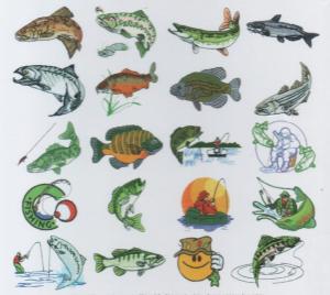 Dakota Collectibles 970051 Gone Fishin' Multi-Formatted CD