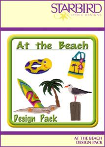 Starbird Embroidery Designs At the Beach Design Pack
