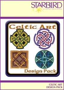 Shirt Designs - Starbird Embroidery Designs Celtic Art Design Pack