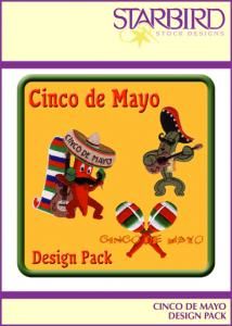 Starbird Embroidery Designs Cinco de Mayo Design Pack