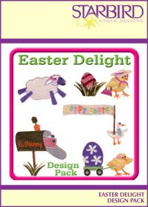 Starbird Embroidery Designs Easter Delight Design Pack