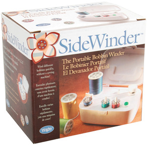 WHITE, BOBBIN, SIDEWINDER, Simplicity, 88175, Side, Winder, for, Winding, Bobbin, Thread, on, Empty, Bobbins